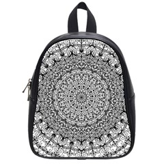 Mandala Boho Inspired Hippy Hippie Design School Bags (Small)