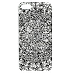 Mandala Boho Inspired Hippy Hippie Design Apple iPhone 5 Hardshell Case with Stand