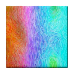 Abstract Color Pattern Textures Colouring Tile Coasters