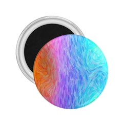 Abstract Color Pattern Textures Colouring 2.25  Magnets