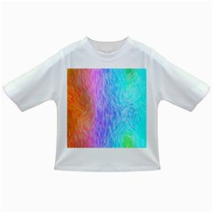 Abstract Color Pattern Textures Colouring Infant/toddler T Shirts