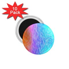 Abstract Color Pattern Textures Colouring 1 75  Magnets (10 Pack)