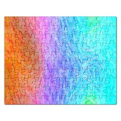 Abstract Color Pattern Textures Colouring Rectangular Jigsaw Puzzl