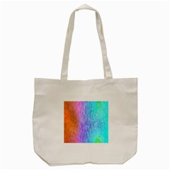 Abstract Color Pattern Textures Colouring Tote Bag (cream)