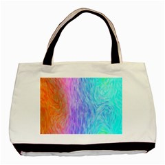 Abstract Color Pattern Textures Colouring Basic Tote Bag