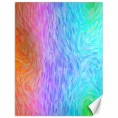 Abstract Color Pattern Textures Colouring Canvas 12  X 16