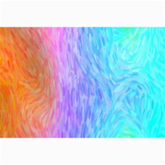 Abstract Color Pattern Textures Colouring Canvas 24  X 36