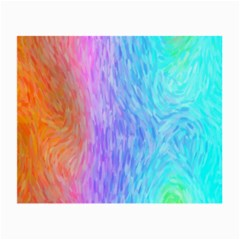 Abstract Color Pattern Textures Colouring Small Glasses Cloth (2 Side)