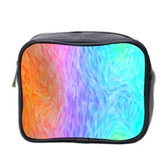 Abstract Color Pattern Textures Colouring Mini Toiletries Bag 2-Side