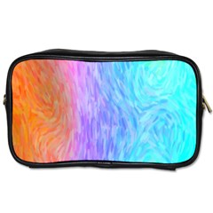 Abstract Color Pattern Textures Colouring Toiletries Bags 2-Side