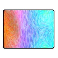Abstract Color Pattern Textures Colouring Fleece Blanket (small)
