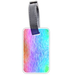 Abstract Color Pattern Textures Colouring Luggage Tags (Two Sides)