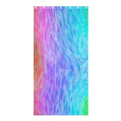 Abstract Color Pattern Textures Colouring Shower Curtain 36  X 72  (stall)