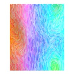 Abstract Color Pattern Textures Colouring Shower Curtain 60  X 72  (medium)