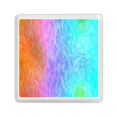 Abstract Color Pattern Textures Colouring Memory Card Reader (square)