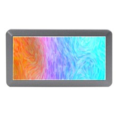Abstract Color Pattern Textures Colouring Memory Card Reader (Mini)