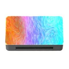 Abstract Color Pattern Textures Colouring Memory Card Reader With Cf