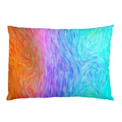 Abstract Color Pattern Textures Colouring Pillow Case (two Sides)