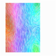 Abstract Color Pattern Textures Colouring Large Garden Flag (Two Sides)