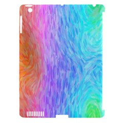 Abstract Color Pattern Textures Colouring Apple Ipad 3/4 Hardshell Case (compatible With Smart Cover)