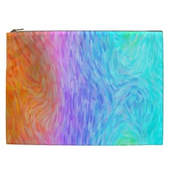 Abstract Color Pattern Textures Colouring Cosmetic Bag (xxl)