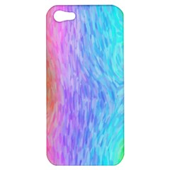 Abstract Color Pattern Textures Colouring Apple Iphone 5 Hardshell Case