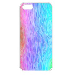 Abstract Color Pattern Textures Colouring Apple iPhone 5 Seamless Case (White)