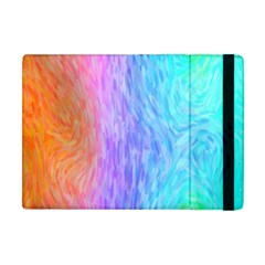 Abstract Color Pattern Textures Colouring Apple Ipad Mini Flip Case