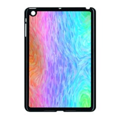 Abstract Color Pattern Textures Colouring Apple iPad Mini Case (Black)