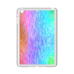 Abstract Color Pattern Textures Colouring Ipad Mini 2 Enamel Coated Cases