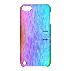 Abstract Color Pattern Textures Colouring Apple iPod Touch 5 Hardshell Case with Stand