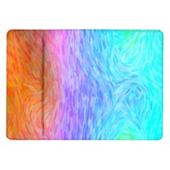 Abstract Color Pattern Textures Colouring Samsung Galaxy Tab 10.1  P7500 Flip Case