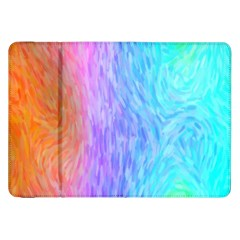 Abstract Color Pattern Textures Colouring Samsung Galaxy Tab 8.9  P7300 Flip Case