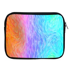 Abstract Color Pattern Textures Colouring Apple Ipad 2/3/4 Zipper Cases