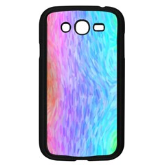 Abstract Color Pattern Textures Colouring Samsung Galaxy Grand Duos I9082 Case (black)