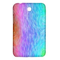 Abstract Color Pattern Textures Colouring Samsung Galaxy Tab 3 (7 ) P3200 Hardshell Case
