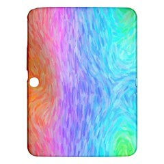 Abstract Color Pattern Textures Colouring Samsung Galaxy Tab 3 (10 1 ) P5200 Hardshell Case