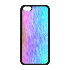 Abstract Color Pattern Textures Colouring Apple Iphone 5c Seamless Case (black)