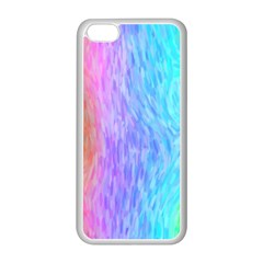 Abstract Color Pattern Textures Colouring Apple Iphone 5c Seamless Case (white)