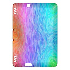 Abstract Color Pattern Textures Colouring Kindle Fire HDX Hardshell Case