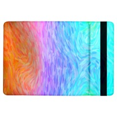 Abstract Color Pattern Textures Colouring iPad Air Flip