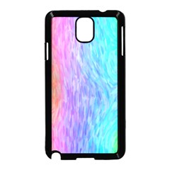 Abstract Color Pattern Textures Colouring Samsung Galaxy Note 3 Neo Hardshell Case (Black)