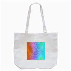 Abstract Color Pattern Textures Colouring Tote Bag (white)