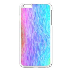 Abstract Color Pattern Textures Colouring Apple Iphone 6 Plus/6s Plus Enamel White Case