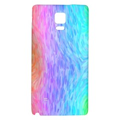 Abstract Color Pattern Textures Colouring Galaxy Note 4 Back Case