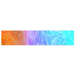 Abstract Color Pattern Textures Colouring Flano Scarf (small)