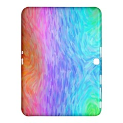Abstract Color Pattern Textures Colouring Samsung Galaxy Tab 4 (10.1 ) Hardshell Case