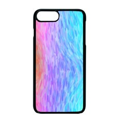 Abstract Color Pattern Textures Colouring Apple Iphone 7 Plus Seamless Case (black)