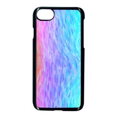 Abstract Color Pattern Textures Colouring Apple Iphone 7 Seamless Case (black)