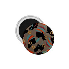 African Women Ethnic Pattern 1 75  Magnets